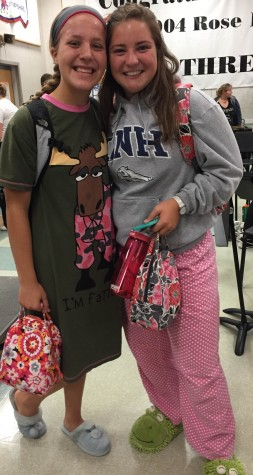 Photo Gallery: Spirit Week day one, pajama day