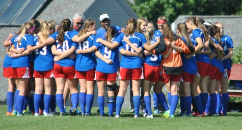 Girl's soccer looking forward to playoffs