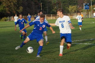 Tommy Stanley makes his comeback on boys varsity soccer