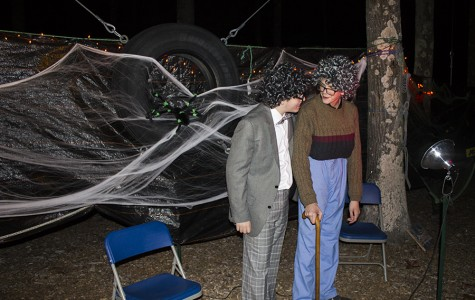 Scare yourself a night out at Haunted Woods
