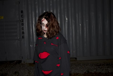 Drama club's spooks and scares bring out Halloween spirit at Haunted Woods