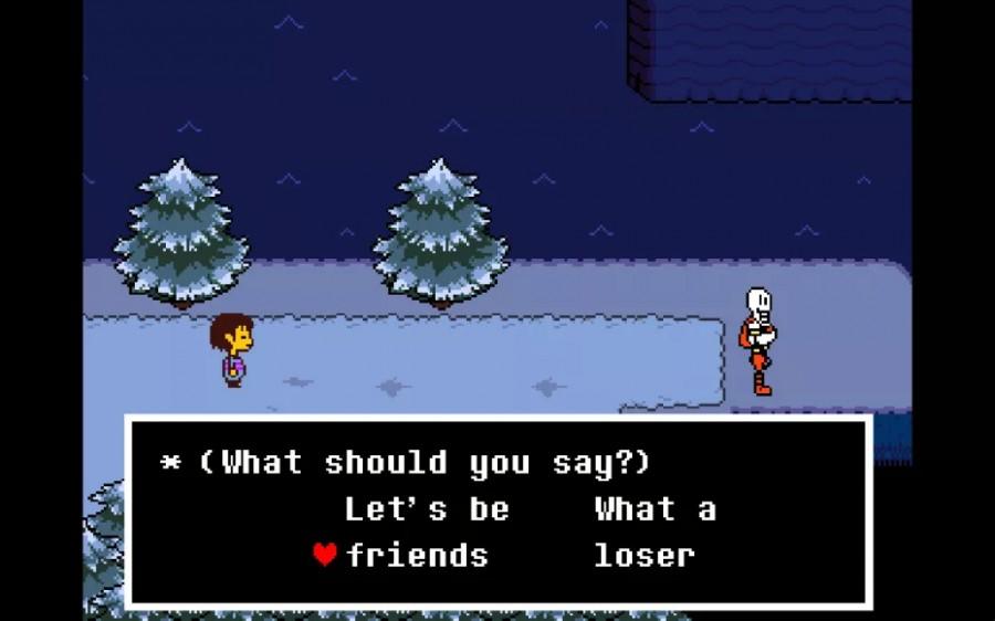 undertale a game where nobody has to die lancer spirit online