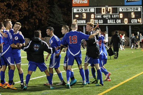 Boys soccer only one win away