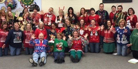 Holiday sweater day: The day when 'ugly' is beautiful