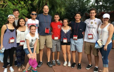 LHS Marching Band & Colorguard perform in Orlando, FL