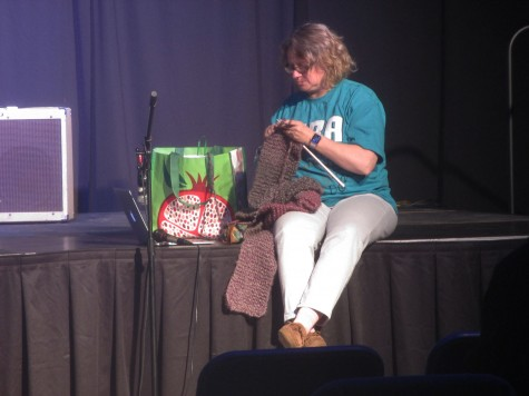 Out of the classroom and onto the stage, teachers shine at math team's annual teacher talent show
