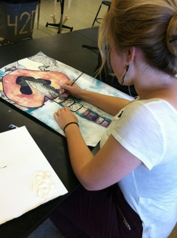 Creating her own reality: Senior Sami Marcantonio finds herself through art