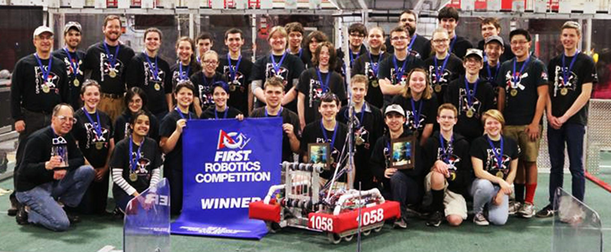 The PVC Pirates are off to a great start this season having already won two events. They head to Boston University for their next competition.