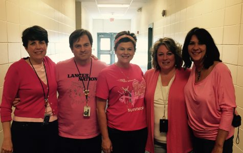 Lancer Nation goes pink to support Mrs. Young
