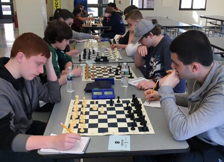 Seniors+Nate+Livernois+and+Michael+Sweet+earned+spots+in+the+top+10+at+this+past+weekend%27s+state+championship+chess+tournament+at+LHS.