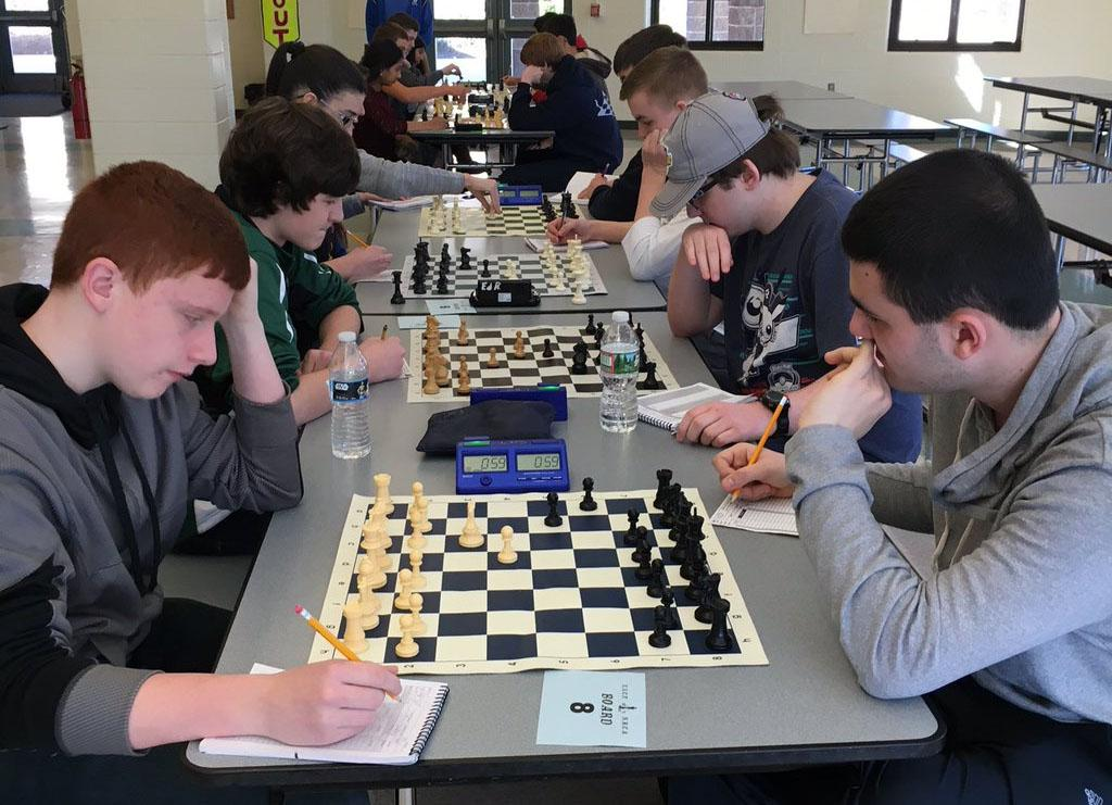 Seniors Nate Livernois and Michael Sweet earned spots in the top 10 at this past weekend's state championship chess tournament at LHS.