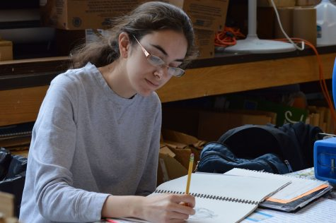 Senior Jackie Facendola achieves honorable mention in the congressional art competition
