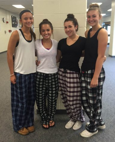 Spirit Week Day 1: Pajama Day
