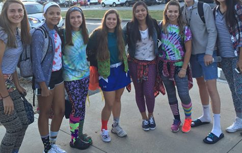 "Spirit Week Day 3: ""Mismatch"" day"