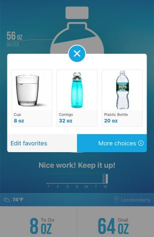 Ounce by liquid ounce, Waterlogged app gets you hydrated and keeps you hydrated