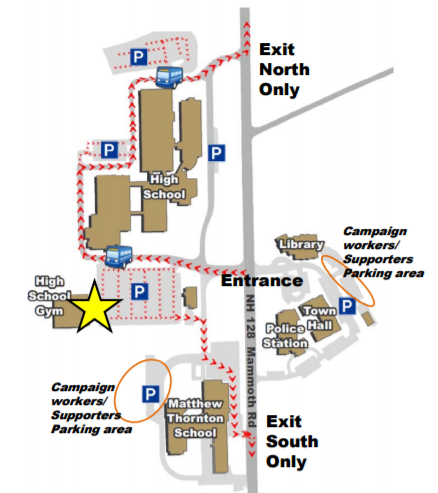 Londonderry voters: Parking guidelines, map for election day