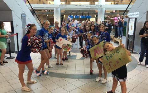 Londonderry Cheerleaders join Make-A-Wish to make a little girl's wish come true