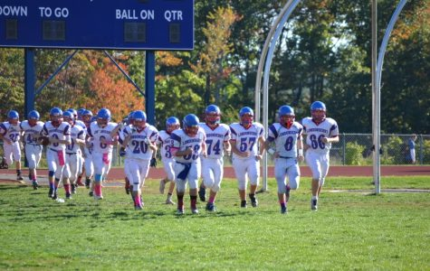 Freshman football team maintains historic undefeated record