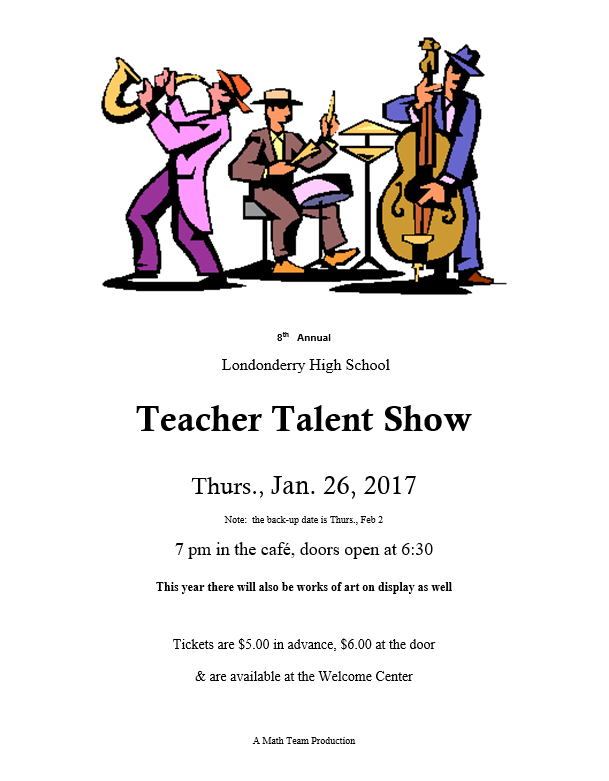 Teacher+talent+show+to+be+held+1%2F26