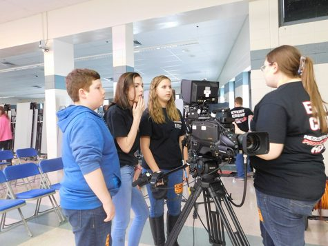 Lights, Camera, Action! NESCom works with LHS students to produce Coffee House