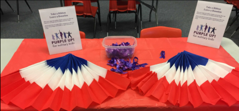 Blue Star Lancers to celebrate Purple Up! week