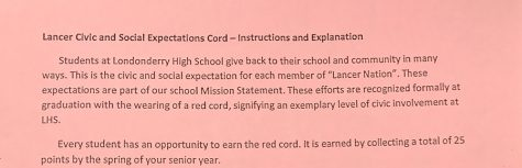 Lancer Civic and Social Expectations Cord forms available in Room 204