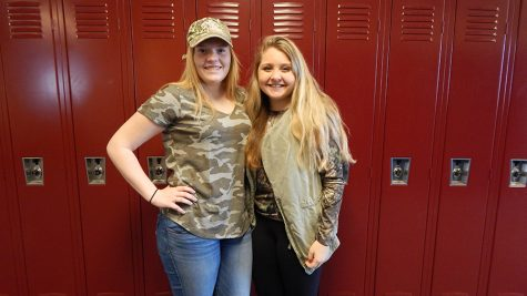 Photo Gallery: Spirit week day one, camouflage day