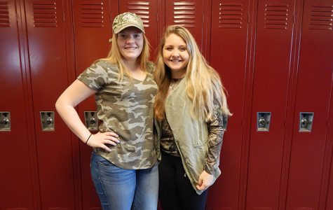 Photo Gallery: Spirit week day one, camouflage day