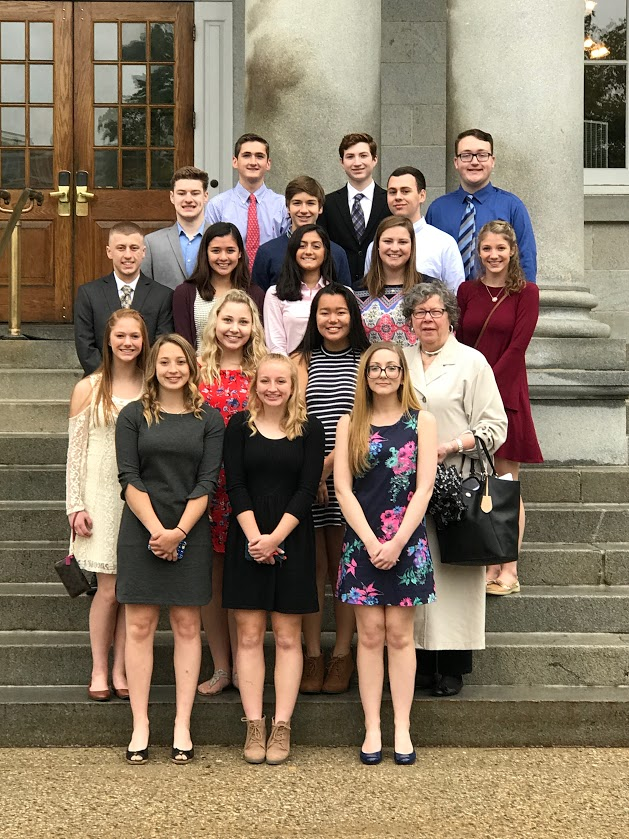 The Student Council attends a State Conference in the spring where they have the opportunity to interact with students from other student councils and to vote on the new state board.