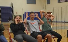 LSO Gallery: Seniors act silly at hypnotist show