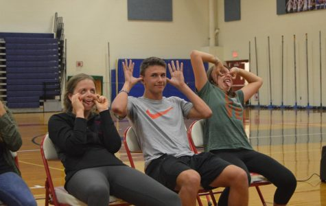 LSO Gallery: Seniors act silly at 2017 hypnotist show