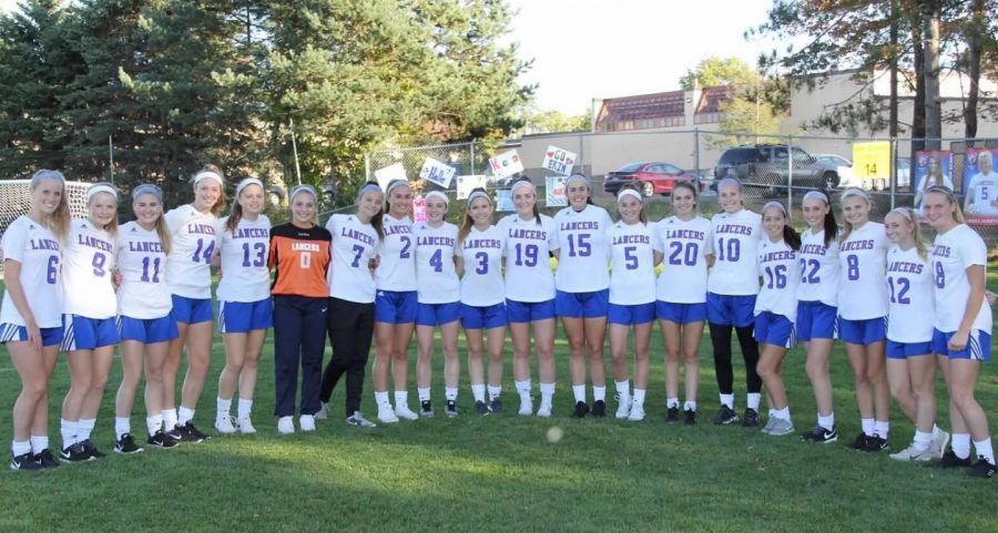 Girls soccer team shows their unity as they prepare for today's playoff game against Timberlane.
