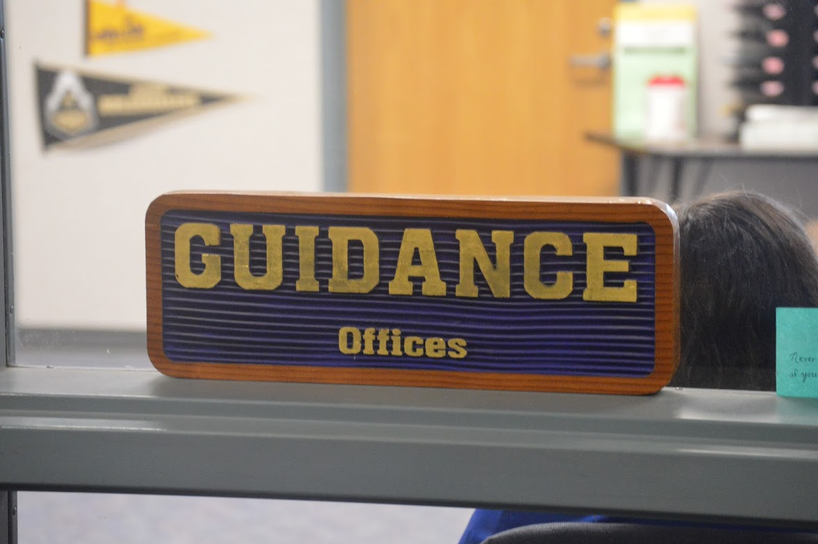 Mrs. O'Dea's guidance office is always open for students to stop by for anything they may need.