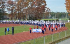 N.H.'s Chronicle visits LHS to highlight Marching Lancer's 5th Rose Bowl appearance