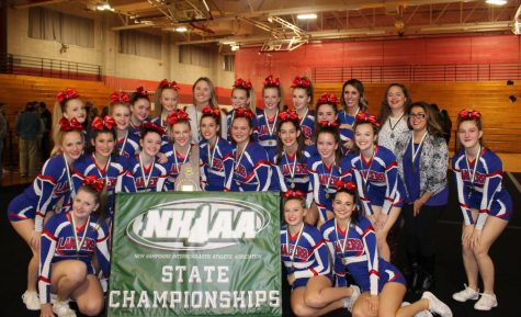 Cheer team captures first State Championship