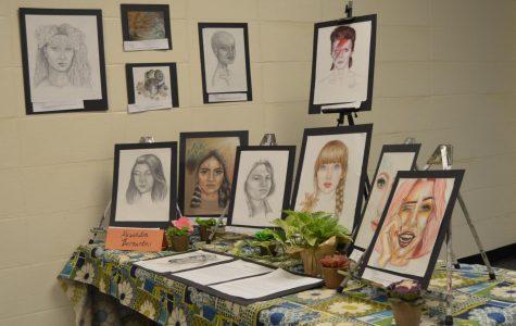 AP Studio Art students turn room 221 into art gallery