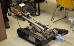 Robots visit Lancer Nation