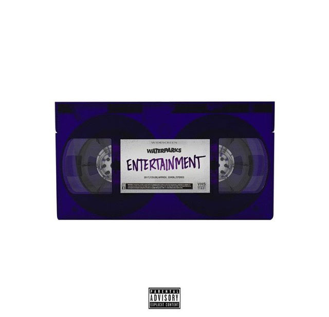 Album+artwork+for+Waterparks%E2%80%99s+sophomore+album%2C+Entertainment.+Entertainment+was+released+on+January+26%2C+2018%2C+and+it+features+ten+tracks.+