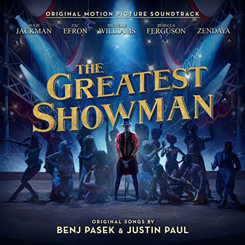 The Greatest Showman album remains #1 on iTunes and has reached this spot in over 65 different countries. It has also reached #1 on the Billboard 200 chart, contributed nine songs to the Spotify Top 200, and won a Golden Globe.