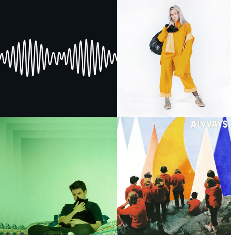 Playlist to get out of music's top charts