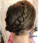 Prom's expensive… save money with this at-home beautifully braided updo tutorial