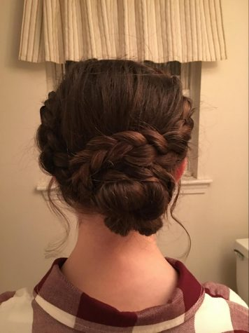 "Prom's expensive… save money with this at-home ""half-up/half-down"" hair tutorial"