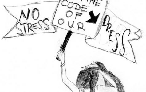 LSO Creative Writing: No Stress for the Code of our Dress