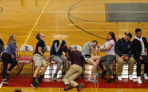 LSO Photo Gallery: Seniors get silly at hypnotist show