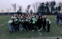 LHS girls power through powderpuff game