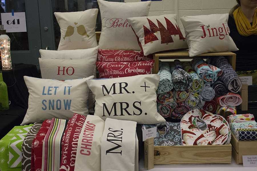 These+pillows+were+a+popular+item+at+the+craft+fair+in+2015%2C+and+this+year+vendors+will+offer+similar+goods.