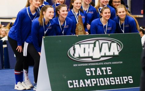 Griffin ignites gymnastics team in Croteau's absence