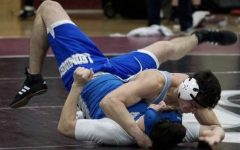 Senior wrestler overcomes setbacks in final season