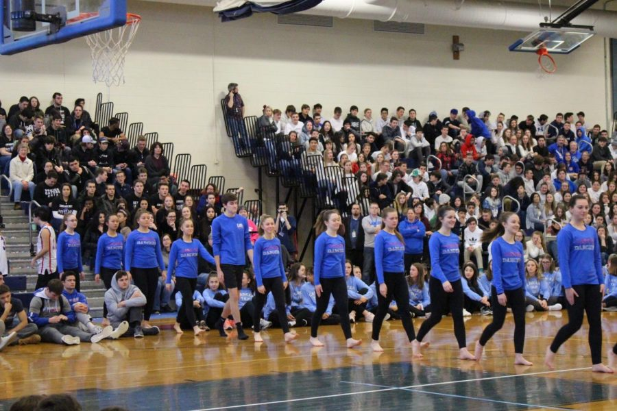 LHS holds annual winter pep rally