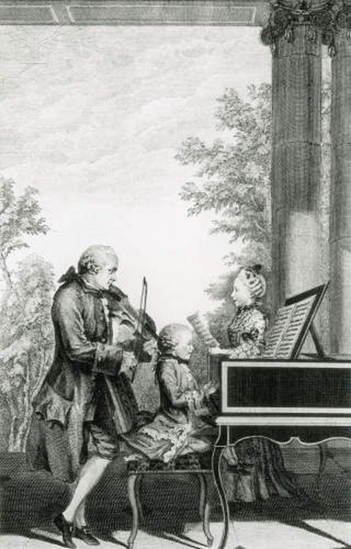 A+painting+of+Mozart+from+the+18th+century.